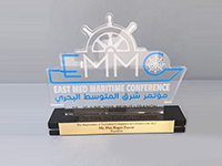 East Med Maritime conference  - Token of Appreciation to Max Zaccar President of ACAL