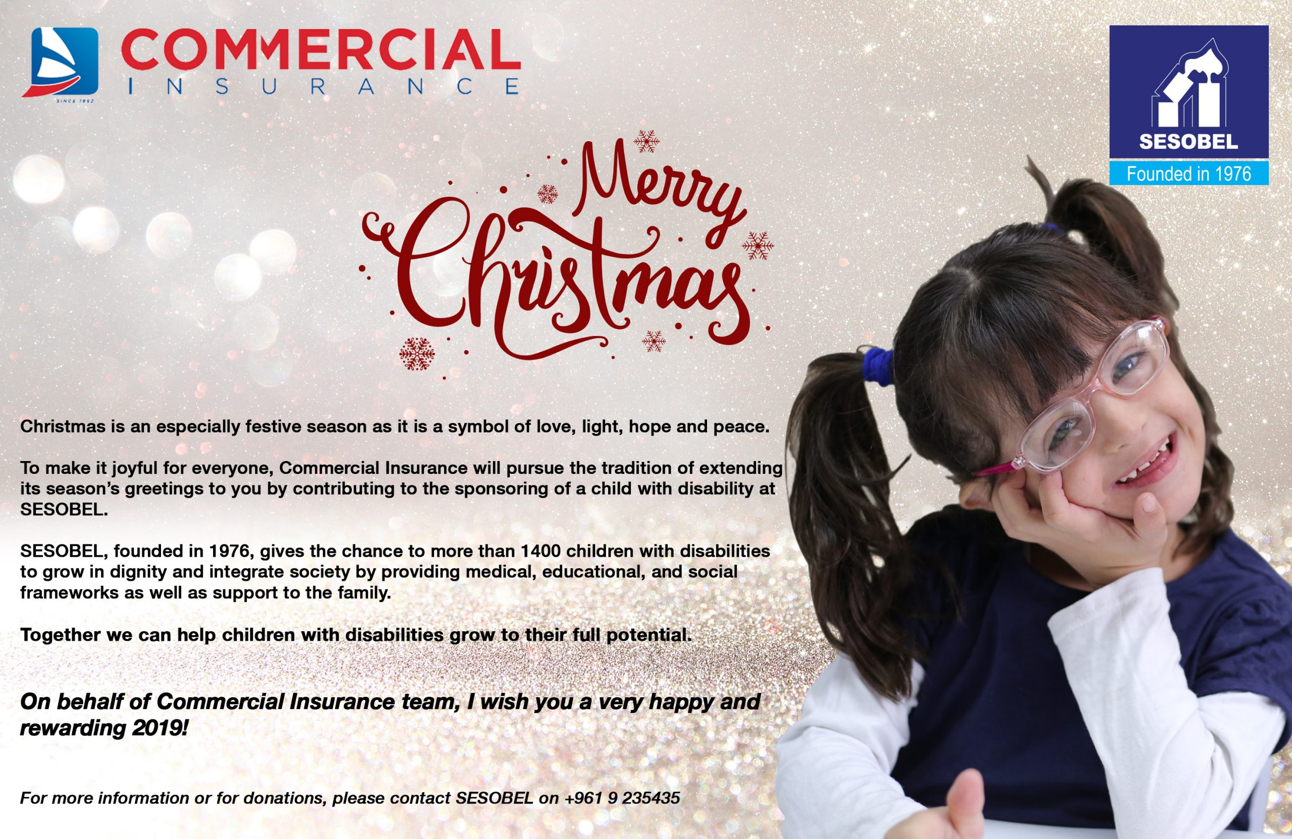 Commercial Insurance - End of Year Communication