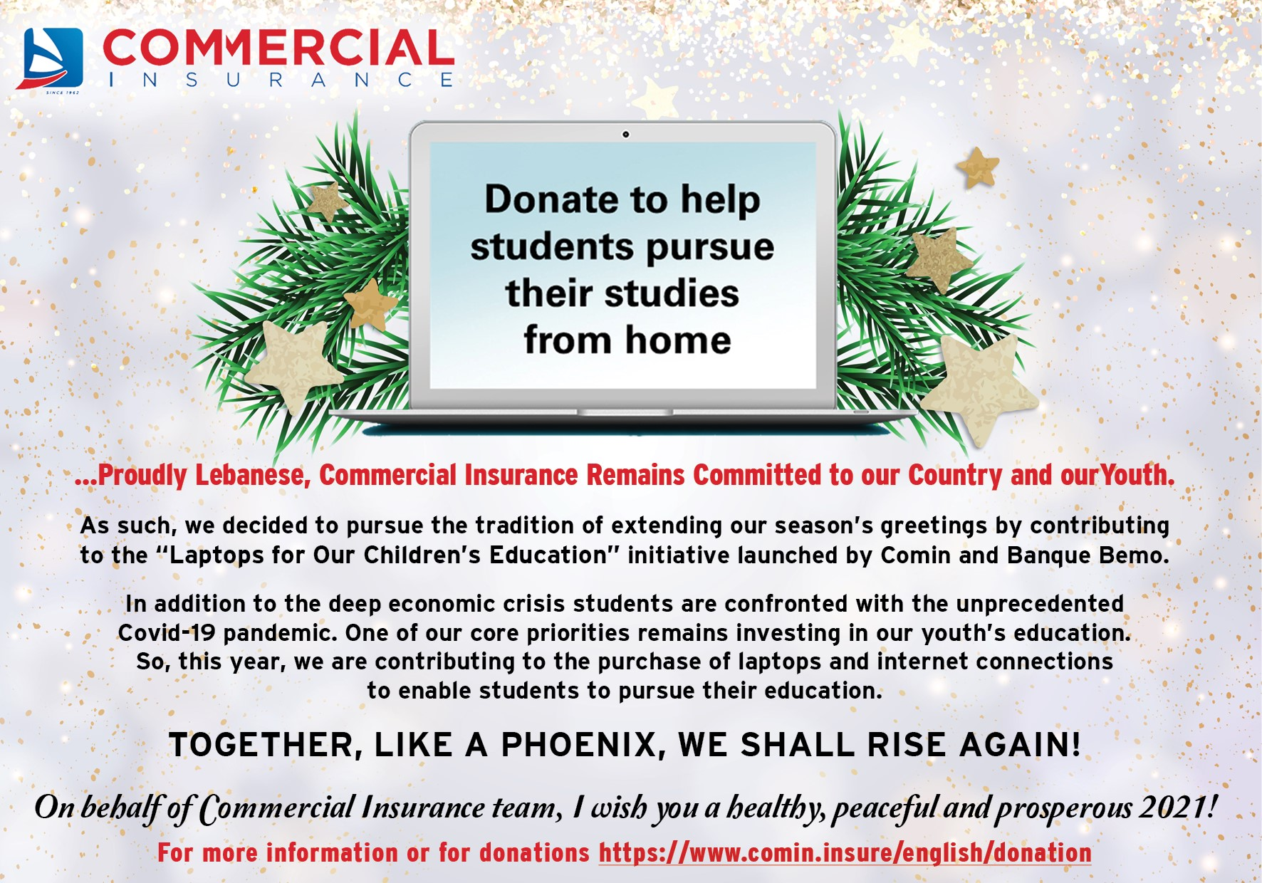 Commercial Insurance - End of Year Communications